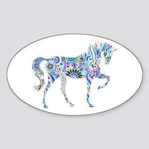 Cool Colorful Horse Sticker