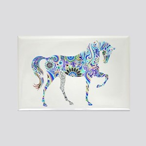 Cool Colorful Horse Magnets