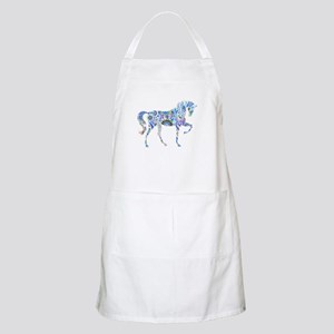 Cool Colorful Horse Apron