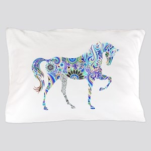 Cool Colorful Horse Pillow Case