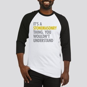 Stonemasonry Thing Baseball Jersey