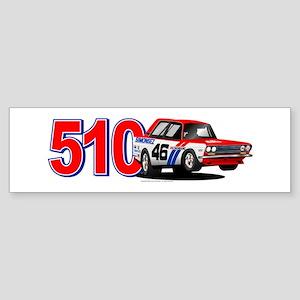 BRE Datsun 510 #46 Sticker (Bumper)