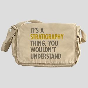 Stratigraphy Thing Messenger Bag