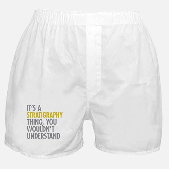 Stratigraphy Thing Boxer Shorts