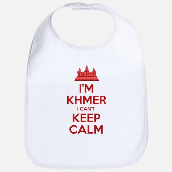 I'm Khmer I Can't Keep Calm Bib