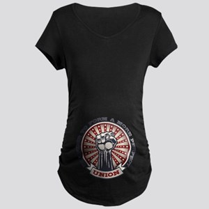 A More Perfect Union Maternity Dark T-Shirt