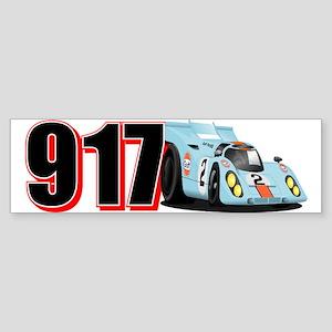Porsha 917K Sticker (Bumper)