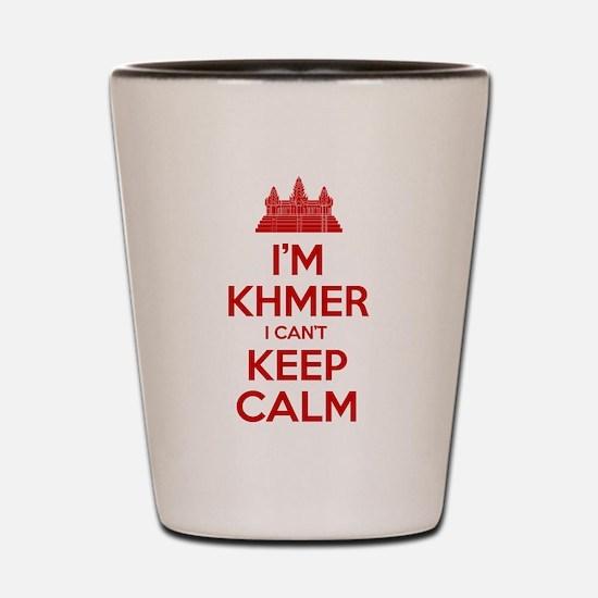 I'm Khmer I Can't Keep Calm Shot Glass