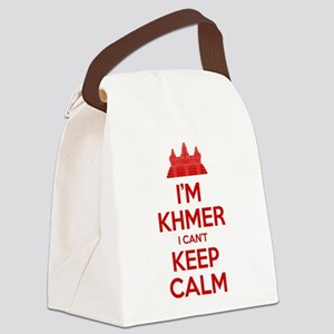 I'm Khmer I Can't Keep Calm Canvas Lunch Bag