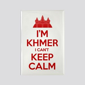 I'm Khmer I Can't Keep Calm Magnets