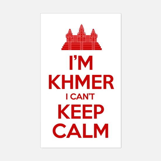 I'm Khmer I Can't Keep Calm Decal