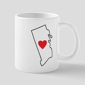 I Love Rhode Island Mug