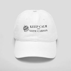 Keep Calm Vote Carson Cap