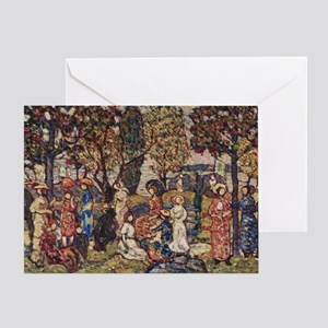 Autumn by Prendergast Greeting Card