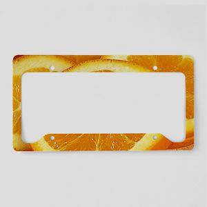 Juicy License Plate Holder