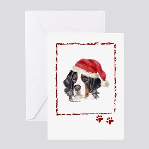 Bernese Mountain do Greeting Cards