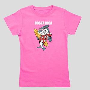 Costa Rica Girl's Tee