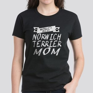 Worlds Best Norwich Terrier Mom T-Shirt