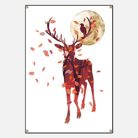 Funny Stag Banner