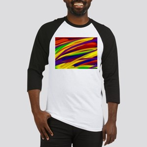 Gay rainbow art Baseball Jersey