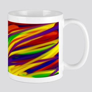 Gay rainbow art Mugs