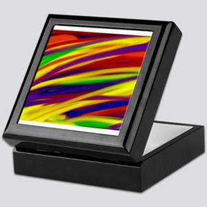 Gay rainbow art Keepsake Box