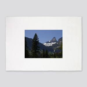 glacier national park 5'x7'Area Rug
