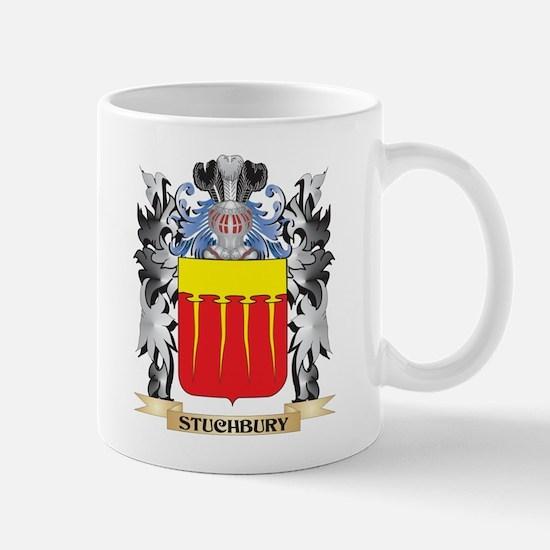 Stuchbury Coat of Arms - Family Crest Mugs