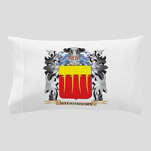 Stuchbury Coat of Arms - Family Crest Pillow Case