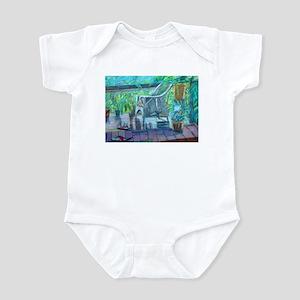 Wicker Chair Infant Bodysuit