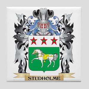 Studholme Coat of Arms - Family Crest Tile Coaster