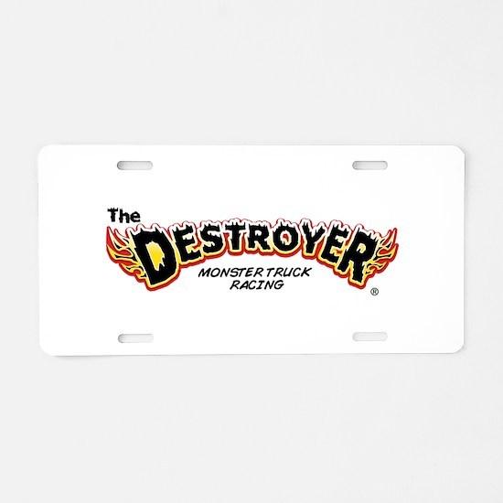 Classic Destroyer (light) Aluminum License Plate