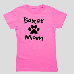 Boxer Mom Girl's Tee