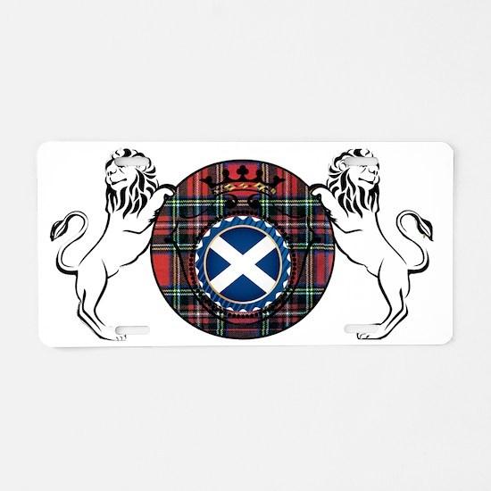 Scottish Pride Aluminum License Plate