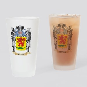 Sutton Coat of Arms - Family Crest Drinking Glass