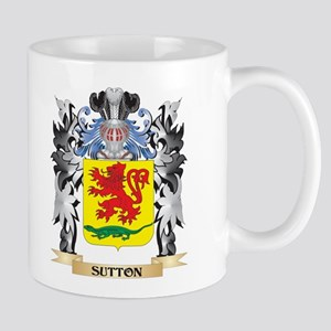 Sutton Coat of Arms - Family Crest Mugs