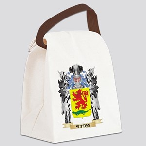 Sutton Coat of Arms - Family Cres Canvas Lunch Bag