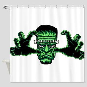 Frankenstien Monster Reaching Out Shower Curtain