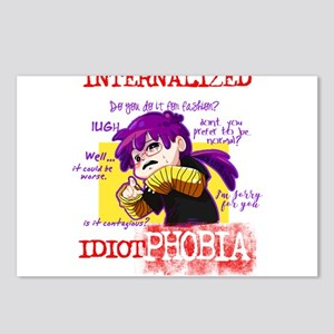 Idiotphobia Postcards (Package of 8)