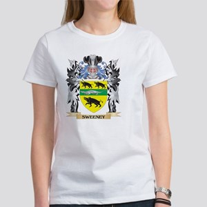 Sweeney family crest gifts cafepress sweeney coat of arms family c t shirt altavistaventures Image collections