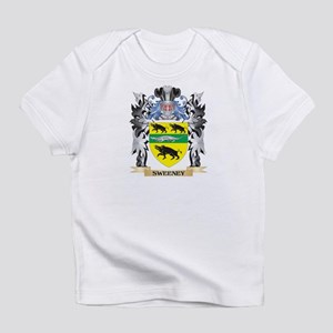 Family crest baby t shirts cafepress sweeney coat of arms family crest infant t shirt altavistaventures Gallery