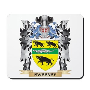 Sweeney family crest mouse pads cafepress altavistaventures Image collections