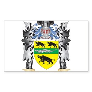 Family crest rectangle stickers cafepress thecheapjerseys Gallery