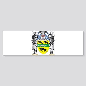Sweeney Coat of Arms - Family Crest Bumper Sticker