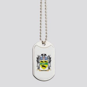 Sweeney Coat of Arms - Family Crest Dog Tags