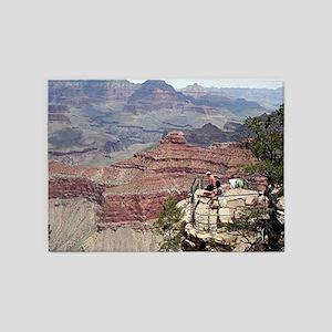 Grand Canyon South Rim, Arizona 4 5'x7'Area Rug