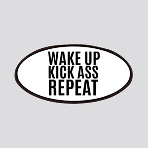 Wake Up Kick Ass Repeat Patch