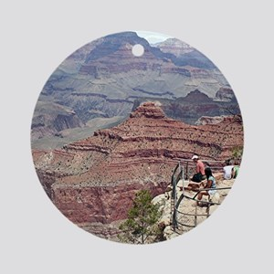 Grand Canyon South Rim, Arizona 4 Round Ornament
