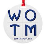 Whats on the Menu? WOTM Ornament
