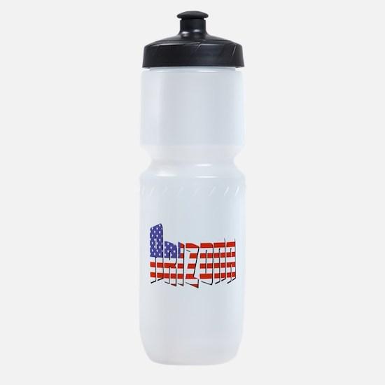 Patriotic Arizona Sports Bottle